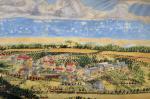 Color landscape of Bethlehem,Pa.