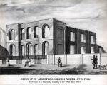 Ruins of St. Augustines Church North 4th Street Phila. Destroyed by a mob on the evening of the 8th of May 1844