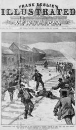 Attack on the coal and iron police by a mob of Polish strikers