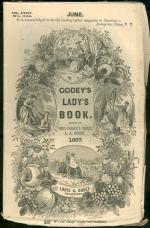 Godey's Lady's Book magazine cover, June 1867