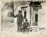 Samuel Hopkins and Peter Woods at the scene of  the Christiana Riot.