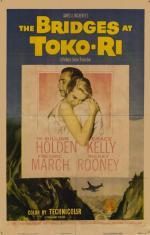 Film Poster for The Bridges of Toko Ri, 1954.