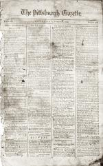 Page of newspaper