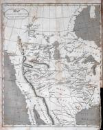 The travels of Capts. Lewis and Clark: Map of the Country Inhabited by the Western Tribes of Indians