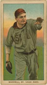 Baseball card of Rube Waddell.