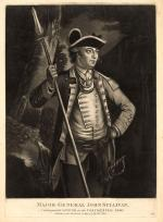 Major General John  Sullivan Distinguished officer of the Continental Army   mesotint,  [London] : Publish'd as the Act directs by Thos. Hart, 1776 Augt. 22.