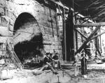 Blast furnace at Lackawanna Iron & Coal Company, Scranton.'
