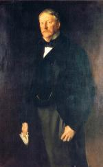 Formal portrait of Cassatt