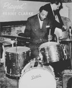 Kenny Clarke at his drums.
