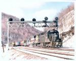 Color photo, 40 Conrail 6006