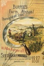 Burpee's Farm Annual Inside page: 1887 '