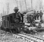 5-mile logging train