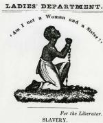 An advertisement for the Female Anti-Slavery Society