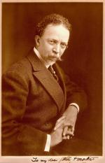 Sepia image of Henry Ossawa Tanner.