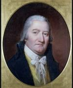 Portrait of David Ramsay, head and shoulders.