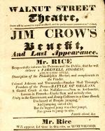 Jim Crow Benefit and Last Appearance Dan Rice, 2/27/33.