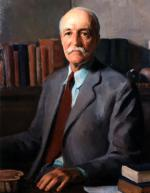 Oil on canvas of Gifford Pinchot.'
