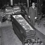 American Tenor Mario Lanza Lying in State.