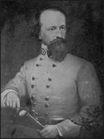 Confederate Brigadier General James J. Pettigrew in uniform.