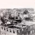Panoramic view of Chambersburg.