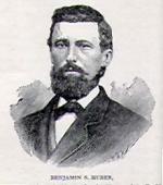 Etching of Benjamin Huber