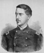 Photograph of Ulric Dahlgren in uniform.