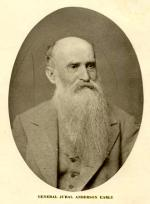 "Photograph of Jubal ""Ol Jubilee"" Early as an old man."