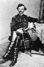 Photograph of Carl Shurz in uniform.