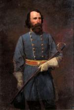 Oil on canvas of  Ambrose Powell Hill, by William Shepard, 1898.