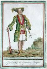 Image of the Grand Chief of the Iroquois Warriors.
