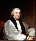 Oil on canvas of Bishop William White.'