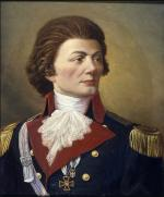 Oil on canvas of Tadeusz Kosciuszko, by Julian Rys, c. 1897.