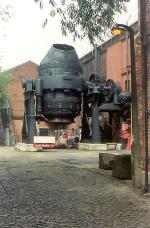 Image of the Bessemer Converter.