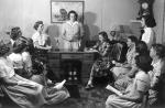 Image of Ladies at a 4H meeting 1949