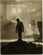 Steel Worker in Foundry'