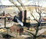 1937, Latrobe, Pa. Oil on canvas'