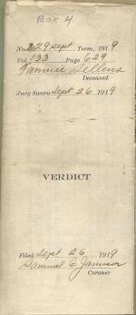 Verdict cover
