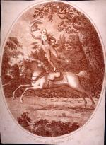 Image of Ricketts on horseback.