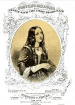 Cover of Sheet Music for <i>Jeanie With the Light Brown Hair,</i> by Stephen C. Foster