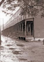 Tenement row'