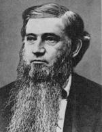 A head and shoulders portrait of Dr. Francis Brewer.