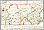 This 1791 map of Pennsylvania includes the newly acquired Erie Triangle in the northwest, and notes the Donation and Depreciation lands.