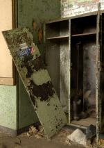 Bethlehem Steel, Abandoned locker, 2006.
