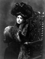 Ethel Barrymore, three-quarter length portrait, seated, facing front