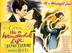 Movie poster depicting Donna Reed and James Stewart