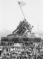 Satute of the raising of the flag at Iwo Jima