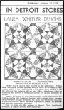 Detroit Times, Laura Wheeler Designs, Morning Star, January 24, 1934