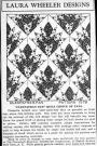 Cincinnati Enquirer, Laura Wheeler Designs, Cleopatra's Fan Quilt Choice of Fans, 1930s