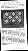 Indiana Farmer's Guide, Five-Row Irish Chain, 1930s
