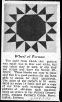 Indiana Farmer's Guide, Wheel of Fortune, 1930s